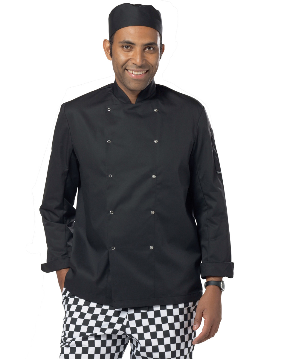 d16528e50 Dennys Long Sleeve Chef's Jacket - PurpleApple Clothing Limited