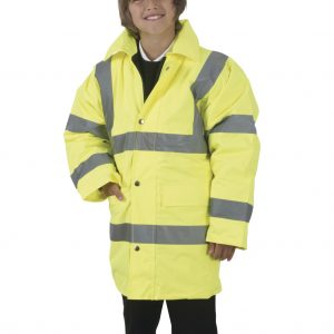 Yoko Children's Hi-Vis Motorway Jacket