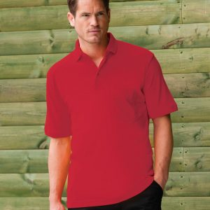 Russell Men's Heavy Duty Cotton Polo
