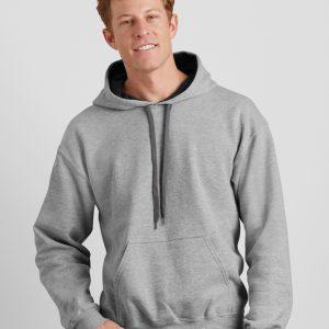 Gildan Heavy Blend? Adult Contrast Hooded Sweatshirt