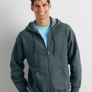 Gildan Heavy Blend? Adult Full Zip Hooded Sweatshirt