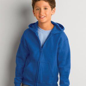 Gildan Heavy Blend? Youth Full Zip Hooded Sweatshirt
