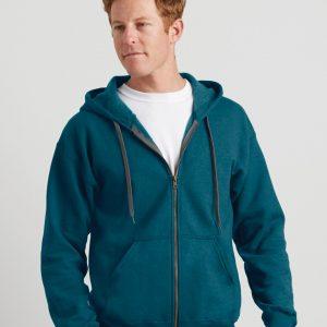 Gildan Heavy Blend? Adult Vintage Full Zip Hooded Sweatshirt