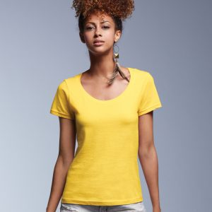 Anvil Women's Featherweight Scoop Tee