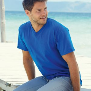 Fruit Of The Loom Men's Valueweight V-Neck T-Shirt