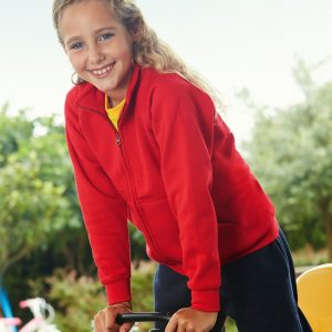 Fruit Of The Loom Children's Classic Sweat Jacket