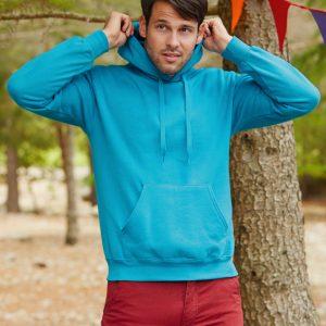 Fruit Of The Loom Men's Classic Hooded Sweatshirt