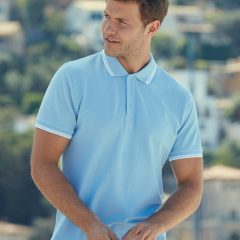Fruit Of The Loom Men's Tipped Polo