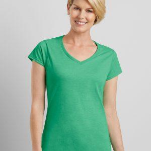 Gildan Softstyleᄅ Ladies' V-Neck T-Shirt