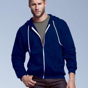 Anvil Adult Full Zip Hooded Sweatshirt