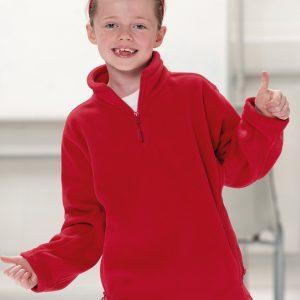 Jerzees Schoolgear Children's 1/4 Zip Outdoor Fleece