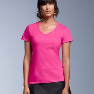 Anvil Women's Fashion Basic V-Neck Tee