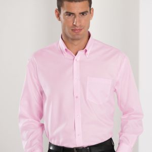 Russell Collection Men's Long Sleeve Ultimate Non-Iron Shirt