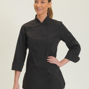 Dennys Ladies' Long Sleeve Chef's Jacket