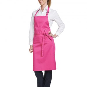 Dennys Multi-Coloured Bib Apron (28×36)
