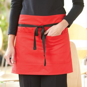 Dennys Short Bar Apron With Pocket