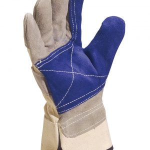 Delta Plus Cowhide Split Leather Gloves