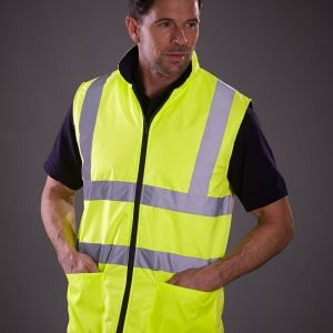 Yoko Hi-Vis Reversible Fleece Vest