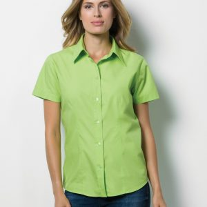Kustom Kit Ladies' Short Sleeve Workforce Shirt