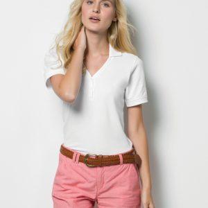 Kustom Kit Ladies' Sophia Comfortecᄅ V-Neck Polo Shirt