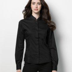 Bargear Ladies' Long Sleeved Mandarin Collar Bar Shirt