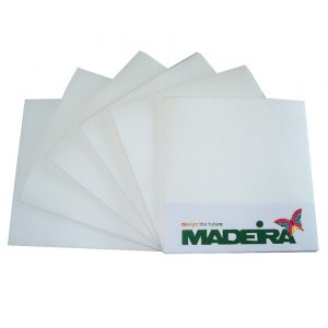 Madeira Tear Off Backing Sheets 20 x 20