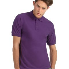 B and C Men's Heavymill Short Sleeved Fine Piquツ Polo