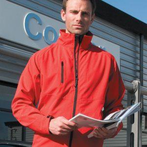 Result Men's Base Layer Softshell Jacket
