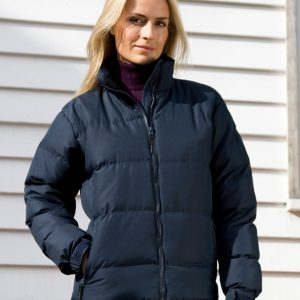 Result Urban Outdoor Wear Ladies' Holkham Down Feel Jacket