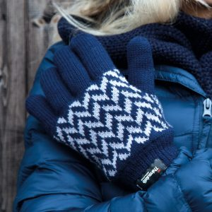 Result Winter Essentials Pattern Thinsulate Gloves