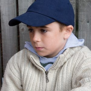 Result Headwear Children's Low Profile Heavy Brushed Cotton Cap