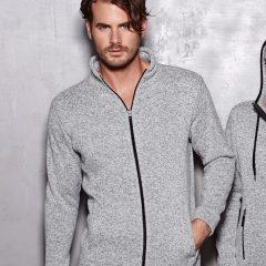 Active By Stedman Men's Knit Fleece Jacket