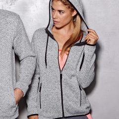 Active By Stedman Women's Knit Fleece Jacket