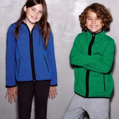 Active By Stedman Children's Knit Fleece Jacket