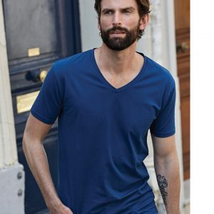 Tee Jays Men's Stretch V-Neck Tee