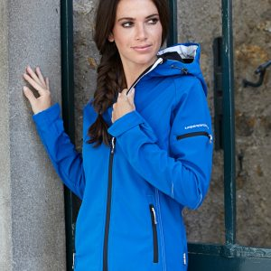 Tee Jays Ladies' Hooded Performance Softshell