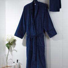 Towels By Jassz 'Powell' Velour Bath Robe