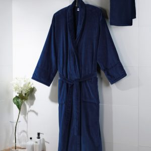 Towels By Jassz 'Powell' Velour Bath Robe