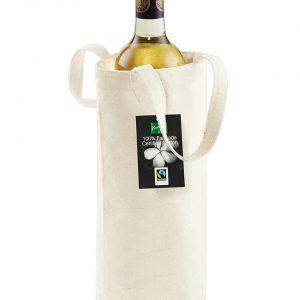 Westford Mill Fairtrade Cotton Bottle Bag