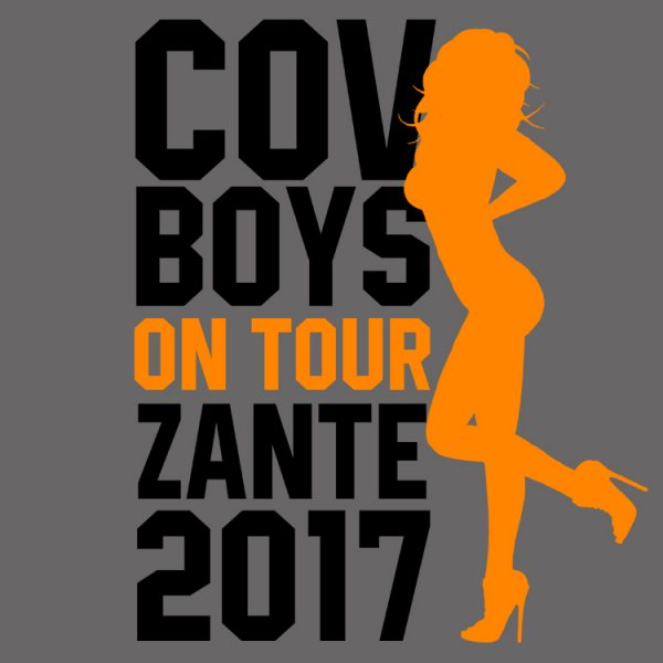 Cov Boys On Tour Stag Do T Shirts