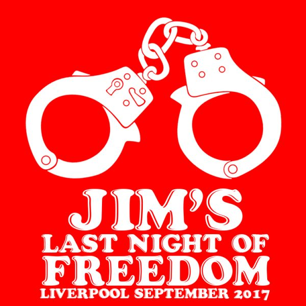Last Night Of Freedom Handcuffs - Stag Do T Shirts