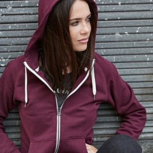 Womens Zipped Hoodies